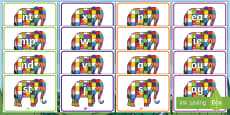 Phase 2-5 Phoneme Set On Elmer to Support Teaching on Elmer