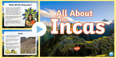 All About the Incas PowerPoint