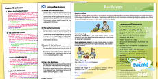 PlanIt - Geography Year 3 - Rainforests Planning Overview CfE