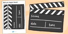 Film Studio Role Play Clapper Board