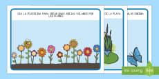 Tapiz de plastilina:  Las estaciones del año
