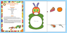 What Did the Caterpillar Eat? Sensory Bag to Support Teaching on The Very Hungry Caterpillar