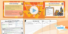 PlanIt Y1 Time Travel: The Great Fire of London Lesson Pack Story Writing (6)