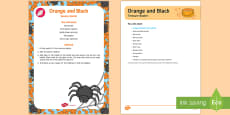 * NEW * Orange and Black Treasure Basket Ideas