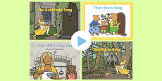 Goldilocks and the Three Bears Songs and Rhymes PowerPoints Pack