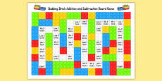 Australia - Toy Addition and Subtraction Board Game