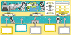 2016 to 17 Class Timeline Display Pack
