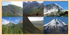 Magnificent Mountains Photo Clip Art Pack