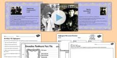 Emmeline Pankhurst and Emily Davison Teaching Pack