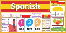 Spanish Language Basics Resource Pack