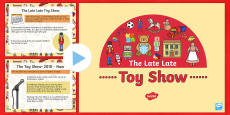 History of the Late Late Toy Show PowerPoint