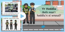 Pŵerbwynt Beth mae'r Heddlu'n ei wneud?