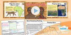 PlanIt - History UKS2 - Benin Lesson 1: Africa's Past Lesson Pack