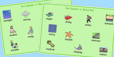 Two Syllable 'st' Blend Word Mats