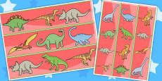 Dinosaurs Display Borders
