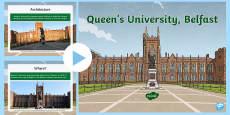 * NEW * Queen's University, Belfast PowerPoint