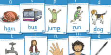 Active Literacy Phonics Programme Stage 1 Display Posters