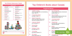 Top 10 Children's Books about Canada Book List