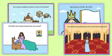 Challenge Cards Fairy Tale Castle Polish