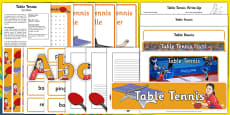 The Olympics Table Tennis Resource Pack