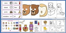 Story Sack Resource Pack to Support Teaching on Whatever Next!