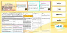 * NEW * Y4 Avoid Being Tutankhamun!: Activity Plan 5 PlanIt Guided Reading Pack to Support Teaching on Avoid Being Tutankhamun!