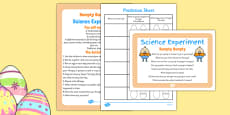 Humpty Dumpty Science Experiment and Prompt Card Pack