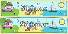 Seasons Banners Summer - Australia