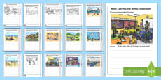 * NEW * Writing Stimulus Picture Resource Pack