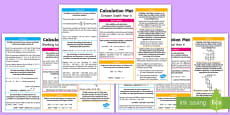 * NEW * Year 6 Addition, Subtraction, Multiplication and Division Differentiated Maths Mats