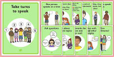 ASD Communication Support Posters