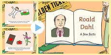 Roald Dahl Factfile PowerPoint