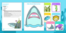 Feed a Shark Posting Busy Bag Resource Pack for Parents