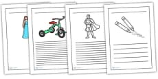Toy Writing Frames
