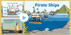 Pirate Ships PowerPoint