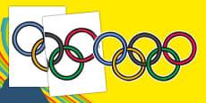 Olympic Display Rings
