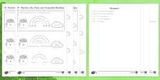 * NEW * St. Patrick's Day Prime and Composite Numbers Differentiated Activity Sheets