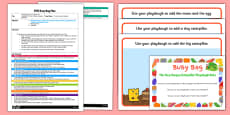 Playdough Activity EYFS Busy Bag Plan and Resource Pack to Support Teaching on the Very Hungry Caterpillar
