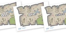 Tricky Words on Treasure Maps