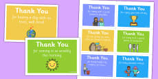 Thank You Notes Children in School