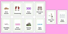 Three Syllable THR Flash Cards
