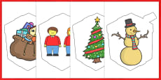 Australia - Make Your Own A4 Advent Presents 1-25