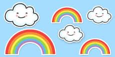 Proud Cloud Display Pack Proud Cloud Display Cut Outs