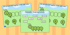 Caterpillar Ordering Flipchart
