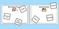 Characteristics Of A Good Friend Game