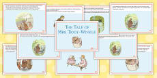 The Tale of Mrs Tiggy Winkle Story Cards (Beatrix Potter)