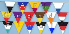 AFL Australian Football League Grand Final Display Bunting