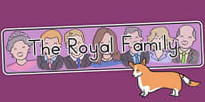 Australia - The Royal Family Display Banner