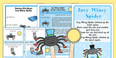 Incy Wincy Spider Sensory Resource Pack