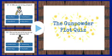 The Gunpowder Plot Quiz PowerPoint KS2